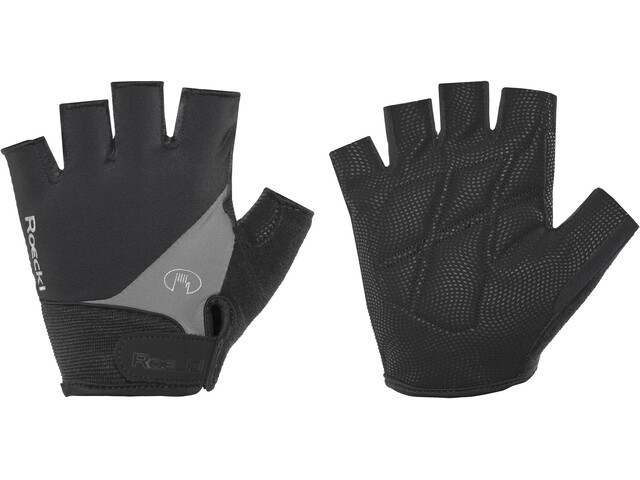 Roeckl Napoli Handschuhe schwarz/grau